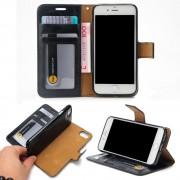 Iphone 7 plus cover - etui 2 i 1 sort Leveso.dk Mobiltelefon tilbehør