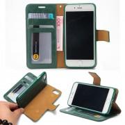 Iphone 7 plus cover - etui 2 i 1 grøn Mobil tilbehør
