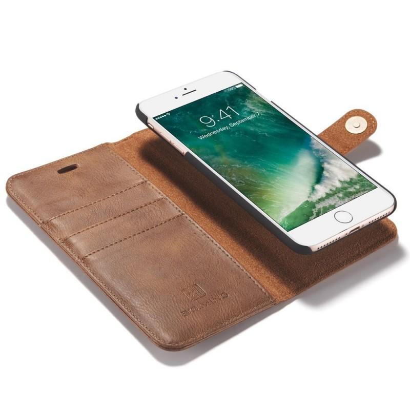 Stander Læder Etui til iPhone 7 Plus Brun