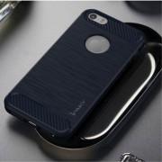 C-style armor cover blå Iphone SE Mobil tilbehør