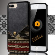 Iphone 7 Plus cover sort bohemian style, Iphone 7 plus covers og tilbehør