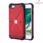 til Iphone 7 rød beskyttelses cover Pierre Cardin shockproof Apple Iphone Mobil tilbehør Leveso.dk