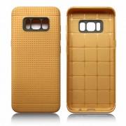Samsung Galaxy S8 cover dot line brun, Køb Samsung Galaxy S8 cover og mobil tilbehør hos Leveso.dk