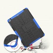 Ipad 9.7 2017 blå håndværker cover med stander Tabletcovers