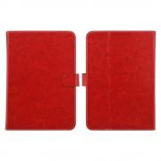 Ipad 9,7 2017 smart 2 i 1 cover med lommer rød Tabletcovers