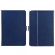 Ipad 9,7 2017 smart 2 i 1 cover med lommer blå Tabletcovers