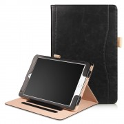Ipad 9.7 2017 flip cover med stor lomme Tabletcovers