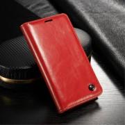 Cover wax med lommer rød Galaxy S5 mini Mobil tilbehør