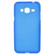 SAMSUNG GALAXY J3 cover mat tpu blå Mobiltelefon tilbehør