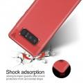 Galaxy Note 8 cover tpu læder rød
