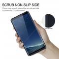 Galaxy Note 8 cover tpu læder blå