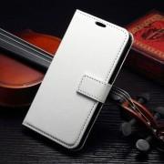 SAMSUNG GALAXY S7 EDGE læder cover med kort lommer, hvid Mobiltelefon tilbehør