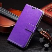 SAMSUNG GALAXY S7 EDGE læder cover med kort lommer, lilla Mobiltelefon tilbehør