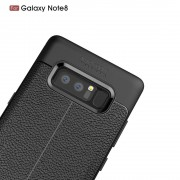 Galaxy Note 8 cover tpu sting læder Mobilcover
