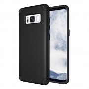 Galaxy S8 anti shock cover sort Mobilcovers