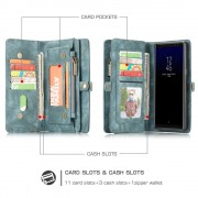 2 i 1 cover multi vintage grøn Galaxy Note 8 Mobilcovers