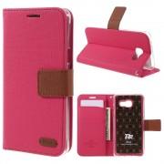 rosa Flip cover Galaxy A5 (2016) Mobil tilbehør