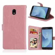 Klassisk cover pink Samsung Galaxy J5 2017 Mobilcovers