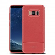 Rugged armor cover rød Galaxy S8 plus Mobilcovers