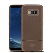 Rugged armor cover brun Galaxy S8 plus Mobilcovers