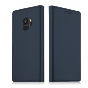 Slim flip cover blå Galaxy S9 Mobilcovers