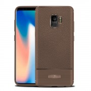 Rugged armor cover brun Galaxy S9 Mobilcovers