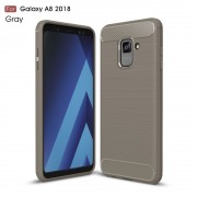 C-style armor cover grå Galaxy A8 2018 Mobilcovers