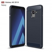 C-style armor cover blå Galaxy A8 2018 Mobilcovers