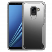 Anti drop cover grå Galaxy A8 2018 Mobilcovers