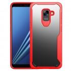 Anti drop cover rød Galaxy A8 2018 Mobilcovers