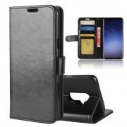 Galaxy S9 plus Vilo flip cover sort Mobilcovers
