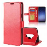 Galaxy S9 plus Vilo flip cover rød Mobilcovers