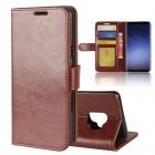 Vilo flip cover brun Galaxy S9 Mobilcovers