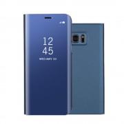 blå Clear view mirror cover Samsung S7 Mobil tilbehør