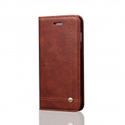 brun Prestige flipcover Galaxy S9 plus Mobil tilbehør