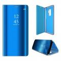 Clear view cover Galaxy S9 plus blå