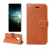 Vintage cover brun Galaxy S9 Mobilcovers