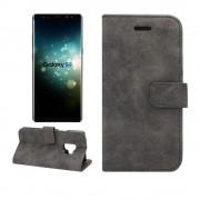 Flip cover retro sort Galaxy S9 Mobil tilbehør
