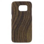 SAMSUNG GALAXY S7 EDGE bag cover med læder, brun Mobiltelefon tilbehør
