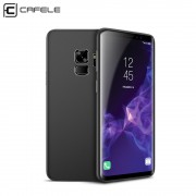 Ultra tynd cover 0.4mm sort Galaxy S9 Mobilcovers