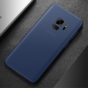 Ultra tynd cover 0.4mm blå Galaxy S9 Mobilcovers