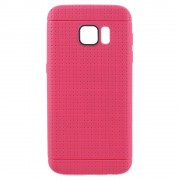 SAMSUNG GALAXY S7 dot bag cover rosa Mobiltelefon tilbehør