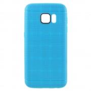 SAMSUNG GALAXY S7 dot bag cover blå Mobiltelefon tilbehør