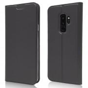 Slim flip cover sort Galaxy S9 plus Mobil tilbehør