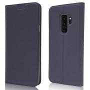 Slim flip cover blå Galaxy S9 plus Mobil tilbehør
