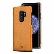 Pierre cardin cover brun Galaxy S9 plus Mobil cover