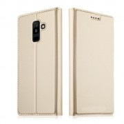 Slim cover guld Galaxy A6 plus Mobil tilbehør