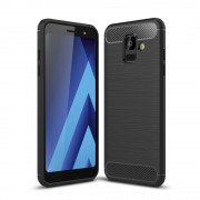 C-style Armor cover sort Galaxy A6 (2018) Mobil tilbehør
