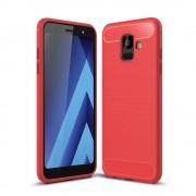 C-style Armor cover rød Galaxy A6 (2018) Mobil tilbehør