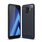 C-style Armor cover blå Galaxy A6 (2018) Mobil tilbehør